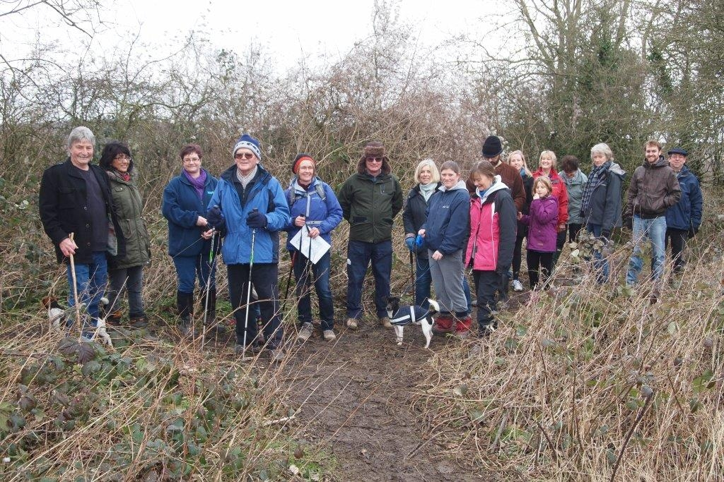 Our first monthly group walk - Jan 2015