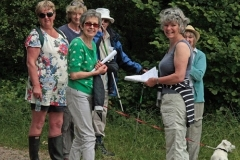 June Group walk