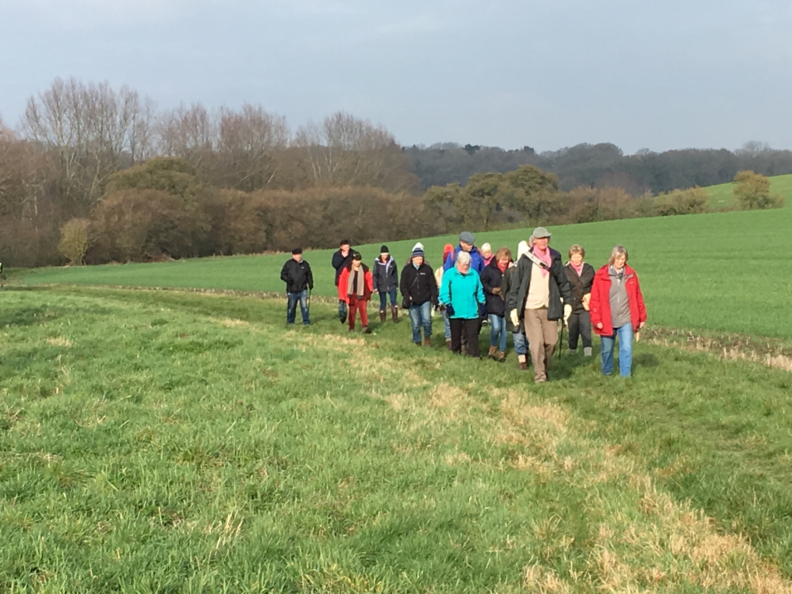 Group walk Jan 2019 Shalbourne