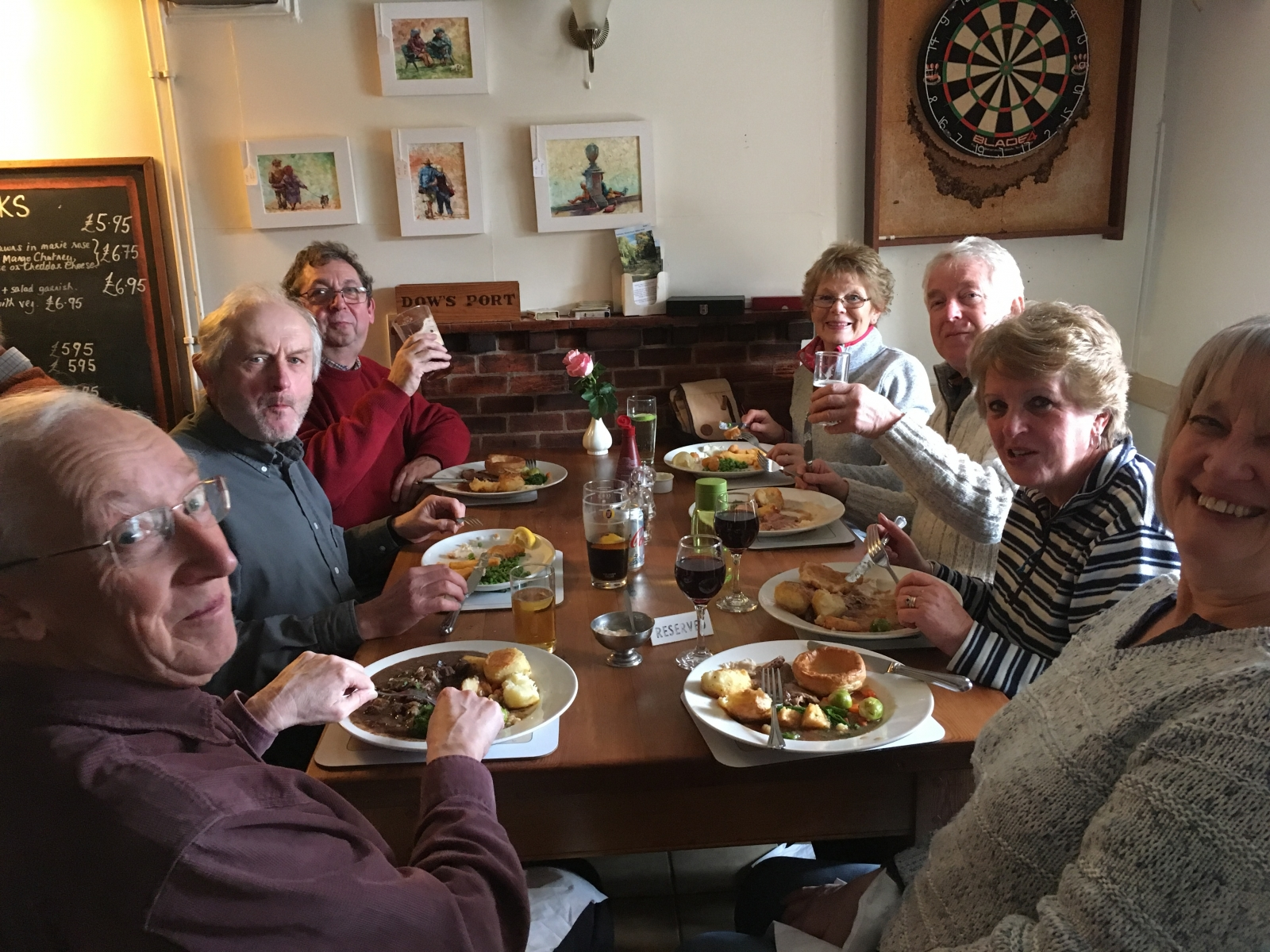 The Plough Shalbourne Jan 2019